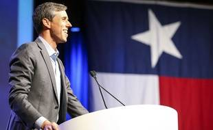 Le candidat démocrate Beto O'Rourke en campagne à Fort Worth, au Texas, le 12 juin 2018.