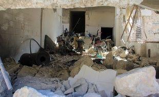 La ville de Khan Cheikhoun, en Syrie, a été le témoin d'une attaque chimique présumée