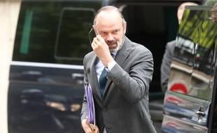 Edouard Philippe, le 9 juin 2020 en visite à Evry.