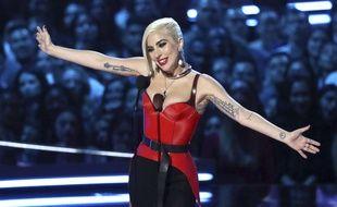 Lady Gaga aux MTV Movie and TV Awards, le 16 juin 2018.