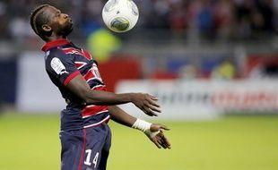 L'attaquant bordelais Cheick Diabaté lors du match contre Lyon le 21 octobre 2013.