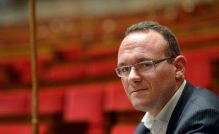 Damien Abad à l'Assemblée nationale en 2012.