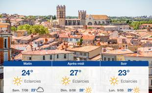 Météo Montpellier: Prévisions du vendredi 6 août 2021