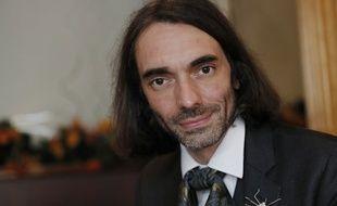 Cédric Villani, le 12 mai 2017 à Orsay.