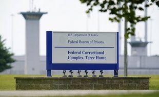 La prison de Terre Haute aux Etats-Unis, le 28 août 2020.