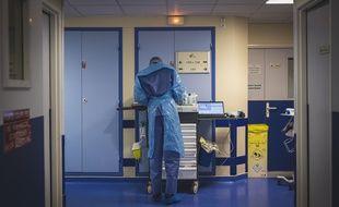 Le service de réanimation de l'hôpital de Grasse.
