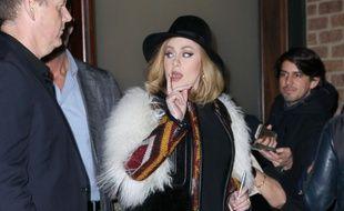 La chanteuse Adele