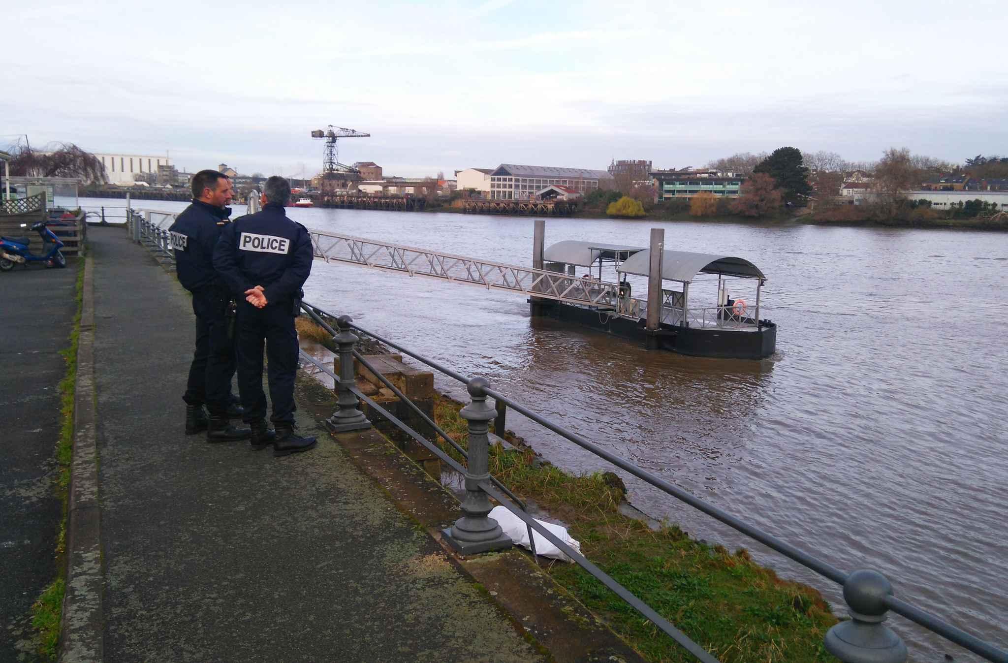 Nantes: un corps repêché dans la Loire
