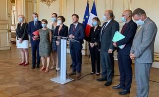 Le Secrétaire d'Etat en charge des affaires européennes, le 14 septembre à Strasbourg.