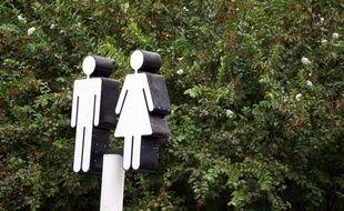 Des toilettes publiques (photo d'illustration).