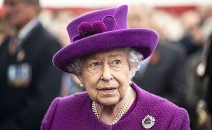 La reine d'Angleterre Elisabeth II.