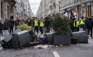 Les manifestations des Gilets Jaunes dans le centre-ville de Lyon, ont fortement ralenti l'activité des commerces, qui déplorent une perte importante de leur chiffre d'affaires.