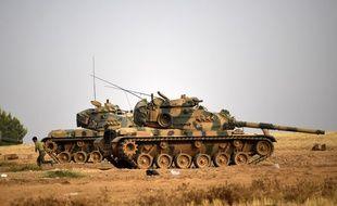 """La Turquie, soutenue par les forces de la coalition internationale antijihadiste, a lancé avant l'aube l'opération """"Bouclier de l'Euphrate"""", avec des avions de combat et ses forces spéciales pour chasser l'EI de Jarablos"""