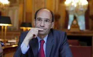 Eric Woerth , ministre du Travail, de la Solidarité et de la Fonction Publique, le 18 juin 2010 à Paris.