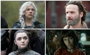 Lagertha de « Vikings », Rick Grimes de « The Walking Dead », Arya Stark de « Game of Thrones » et Tokyo de « La Casa de Papel » concourent dans la catégorie personnages les plus badass de la décennie.