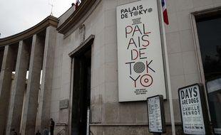 Le Palais de Tokyo à Paris. (Illustration)