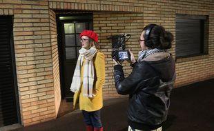 Tournage du film Rode, de Thomas Thilliez.