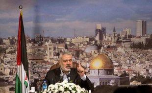 Le chef du gouvernement du Hamas à Gaza, Ismaïl Haniyeh, a assuré samedi que le mouvement islamiste palestinien n'était en rien impliqué dans les violences en Egypte et en Syrie.