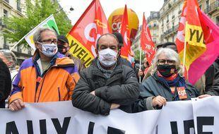 Le rassemblement du 1er mai 2021 à Paris (illustration).
