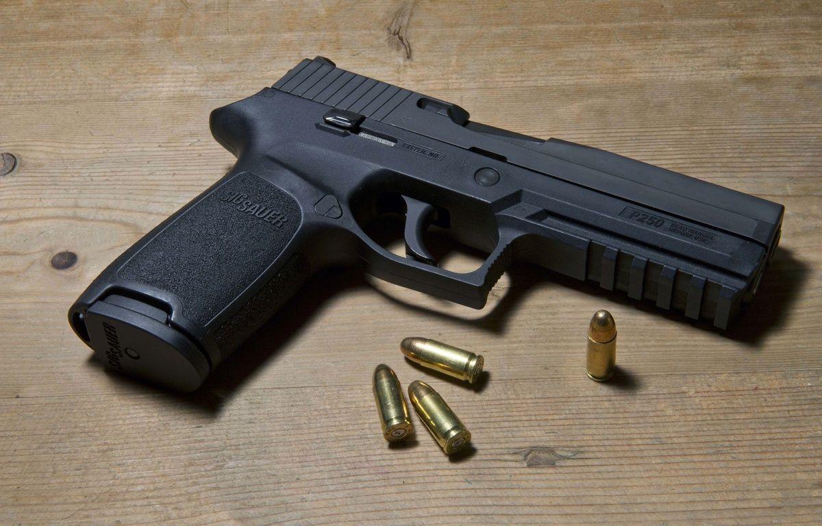 L'homme était armé d'un pistolet 9mm Parabellum. Ilustration. – Jones - Rex Shutterstock Sipa