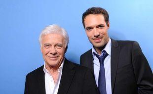Guy et Nicolas Bedos en 2011, illustration