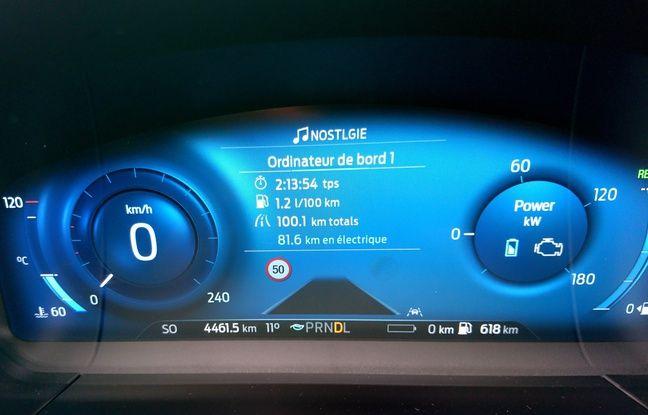 Ford Kuga PHEV Challenge