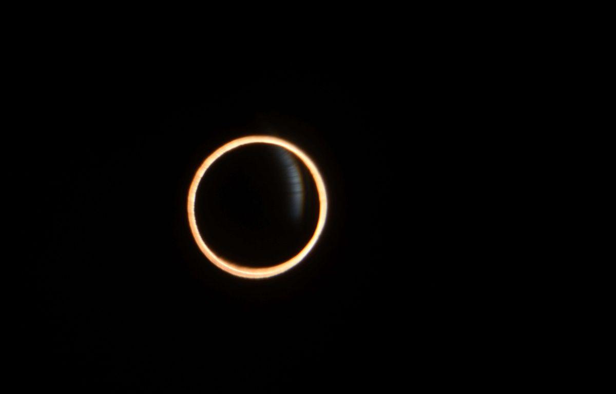 Le Sud de l'Argentine et du Chili ont pu assister le 26 février 2017 à une éclipse annulaire de Soleil, un  – MOMO VIÑALS/SIPA