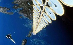 Une tour solaire imaginée par la Nasa
