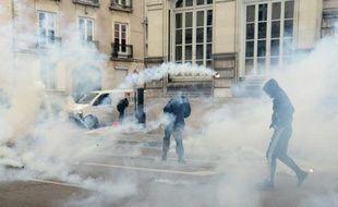 Manifestation à Nantes le 5 avril 2016, contre le projet de Loi travail