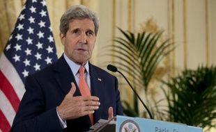 Le secrétaire d'Etat américain John Kerry le 14 octobre 2014 à Paris