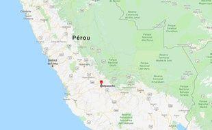 Le meurtre a eu lieu dans le district d'Ayacucho, au Pérou.