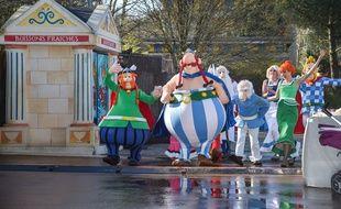 Le Parc Asterix en 2016