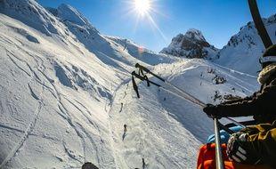 70 à 80 % du domaine skiable de Gourette est ouvert pour les vacances scolaires d'hiver.