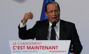 """Le candidat PS à la présidentielle, François Hollande, a appelé les électeurs à lui donner une """"victoire ample"""" en leur lançant vendredi sur RTL: """"Ne faites pas un vainqueur étriqué."""""""