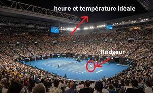 Federer va défier Gasquet en session nocturne à l'Open d'Australie.
