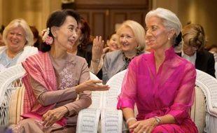 La directrice générale du Fonds monétaire international (FMI) Christine Lagarde a appelé samedi la Birmanie, en plein essor économique après des décennies de junte militaire, à se concentrer sur la lutte contre la pauvreté.