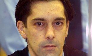 Michel Lelièvre lors de son procès à Arlon en Belgique, en 2004.