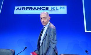 Le nouveau PDG d'Air France-KLM, Jean-Marc Janaillac