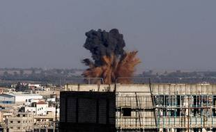 Les raids aériens ont repris dans la bande de Gaza.