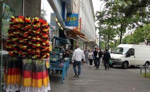 Dans les rues de Kalk, un quartier populaire de Cologne, le 14 juin 2016.