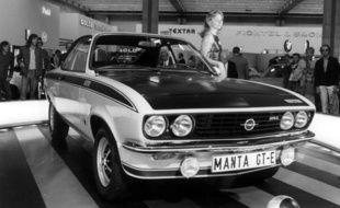 Une Opel Manta (illustration).