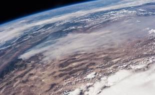 La planète Terre, vue de l'espace.