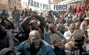 L'opposition a manifesté après l'annonce du Conseil constitutionnel, samedi à Dakar.