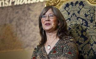 Robin Hobb, en conférence à Londres, en août 2014.