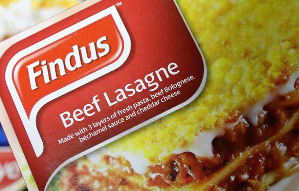 Des lasagnes surgelées de marque Findus. – Scott Heppell/AP/SIPA