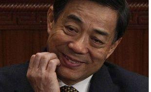 Bo Xilai, ancien dirigeant chinois, le 5 mars 2012 à Beijing.