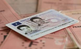 Illustration du permis de conduire.