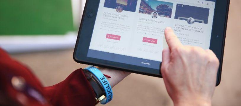 Capture d'écran du site Airbnb (image d'illustration).