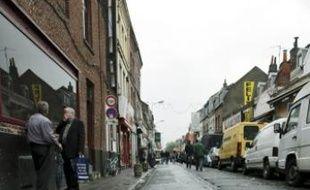 Rue Jules-Guesde,à Lille.
