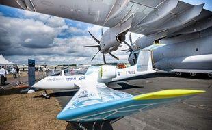 L'avion électrique e-Fan d'Airbus.